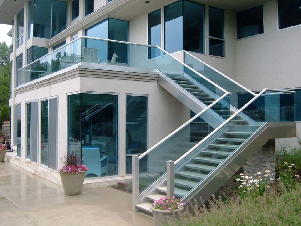 Midwest Glass and  Mirror Railing Glass and Railing Systems