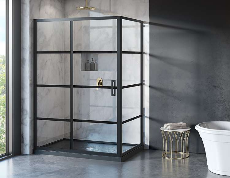 Midwest Glass and Mirror Fluerco Shower Enclosures
